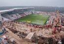Konferencja prasowa podsumowująca rozbudowę stadionu