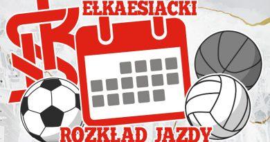 Ełkaesiacki rozkład jazdy 17-19.10