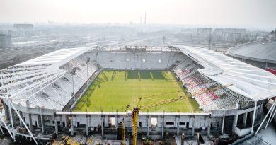 Marcowy raport z budowy stadionu [WIDEO]